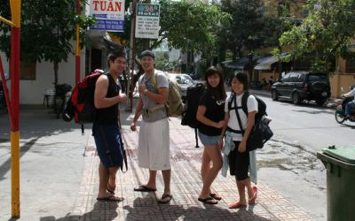 Thank you for making our holiday in Vietnam so interesting