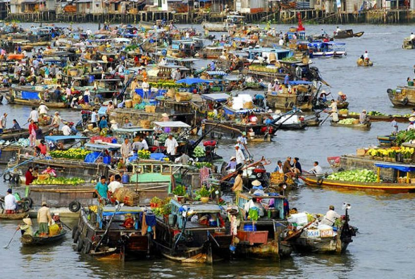 The Floating Markets of Vietnam